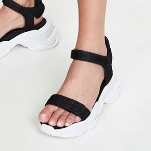 Jeffrey Campbell Sporty Sandals - Size 9